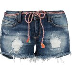 ONLY CLAUDI Jeans Shorts dark blue denim