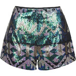 Topshop **All-Over Sequin Shorts by Rare