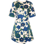Topshop X-Ray Flower Embellished Shift Dress