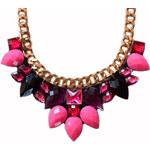 Gems Over náhrdelník Pink