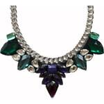 Gems Over náhrdelník Purple