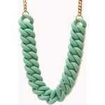 Forever 21 Candy Coated Chain Necklace
