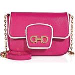 Salvatore Ferragamo Leather Paris Mini Shoulder Bag