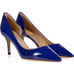Salvatore Ferragamo Patent Leather DOrsay Pumps