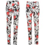 Character Printed Leggings Ladies Mickey 10 S