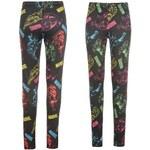 Character Printed Leggings Ladies Marvel 10 S