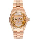 Zadig & Voltaire Glam' Rock Leopard Skull Watch