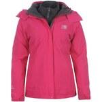 Zimní bunda Karrimor 3 in 1 dámská Coral Pink/Lave 8 (XS)