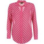 Košile dámská Golddigga Polka Dot Pink/White 8 (XS)