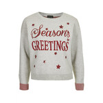 Topshop Season's Greetings Sweater