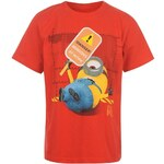 Character Me Tee Child Red 5-6 Roků