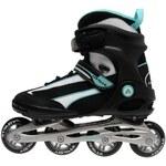 Airwalk Pro Skates Ladies Black/White/Aqu 3