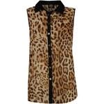 Košile dámská Golddigga Sleeveless All Over Print Leopard 8 (XS)