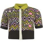 Košile dámská Miso All Over Print Boxy Pink/Purp Jazzy 8 (XS)