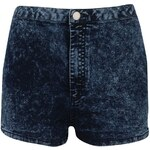 Rock and Rags by Firetrap Acid Wash Shorts Blue Acid Wash S