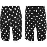 Golddigga Cycle Shorts dámské Black/WhiteSpot 8 (XS)