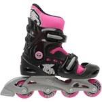 No Fear Inline Skate dámské Black/Pink 5-8