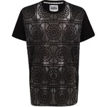 Triko Triko Fabric Mosaic T Shirt Black XS