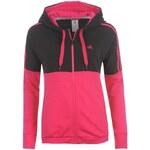 mikina adidas Ess Seas HoodLd43 Black/PinkBuzz 6 (XS)