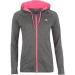 mikina adidas Ult FZ Hood Ld43 DrkShale/Pink 12-14 M