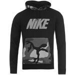 mikina Nike Camo Hoody pánská Black/Grey M