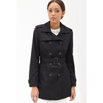 FOREVER21 Belted Trench Coat