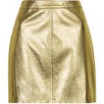 Topshop Shiny PU Mini Skirt