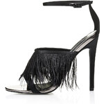 Topshop RIZO Feather Strap Sandals