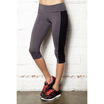 Forever 21 Colorblocked Active Yoga Capris