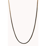 Forever 21 Standout Ombré Chain Necklace