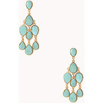 Forever 21 Whimsical Stone Chandelier Earrings