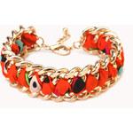 Forever 21 Woven Chain Bracelet