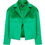 Topshop Crop Satin Jacket
