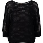 ONLY LIGHT Strickpullover black