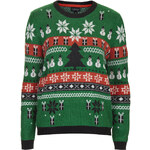 Topshop Christmas Fairisle Sweater