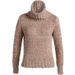 Esprit mottled chunky knit polo neck