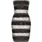 Topshop **Stripe Sequin Bandeau Bodycon Dress by Rare