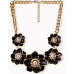 Forever 21 Opulent Floral Bib Necklace