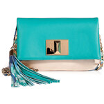 Emilio Pucci Leather Colorblock Shoulder Bag
