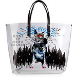 Marc by Marc Jacobs Clear Printed Shopper