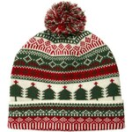 ASOS Bobble Beanie With Christmas Tree Design