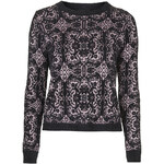 Topshop Baroque Jacquard Sweater