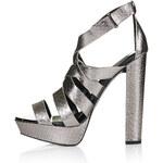 Topshop LUCKY Snake Platform Sandals