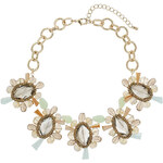 Topshop Faceted Bead Collar