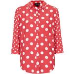 Topshop Mix Spot Shirt