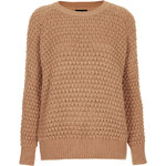 Topshop Knitted Chunky Bobble Jumper