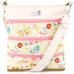 Květovaná kabelka Dara bags Dariana Middle