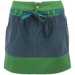 Zeleno-modrá sukně Tranquillo CALTHA