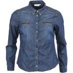 Dámská džínová modrá košile YAYA