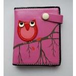 LM moda Krásná dětská peněženka se sovou malá